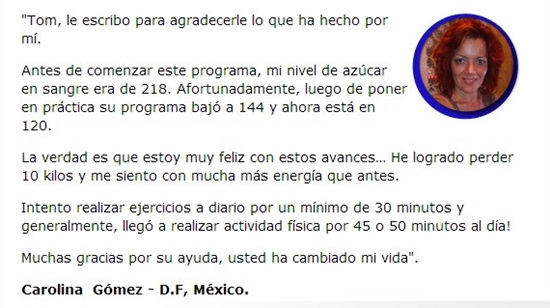 Testimonio 2 Revierta su diabetes