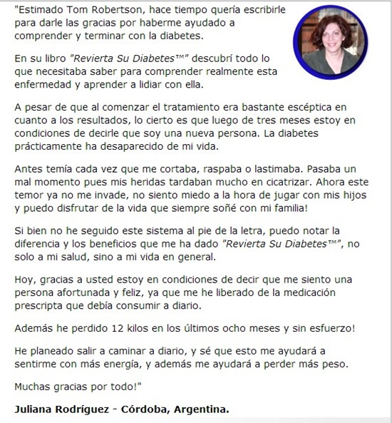 Testimonio 3 Revierta su diabetes